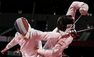 Aleix Heredia, 23º tras la prueba de esgrima en Tokio