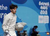 """Alonso Santamaría:""""Haber participado en los Juegos Olímpicos de la Juventud fue un antes y un después"""""""