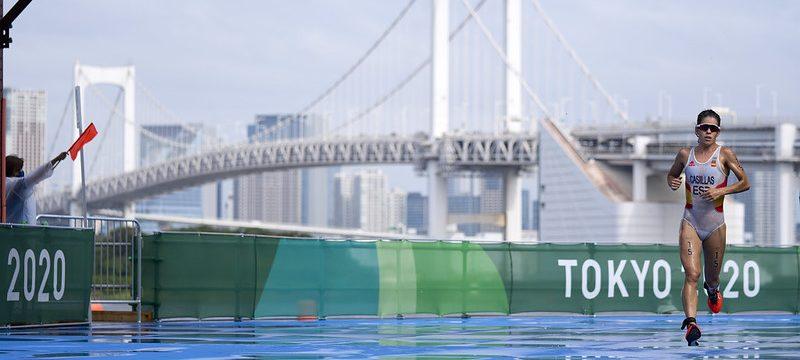 Anna Godoy en Tokio. Fuente: COE