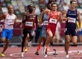 Adrián Ben, a semifinales en su debut olímpico