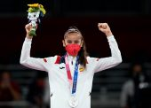 Adriana Cerezo, subcampeona olímpica en taekwondo