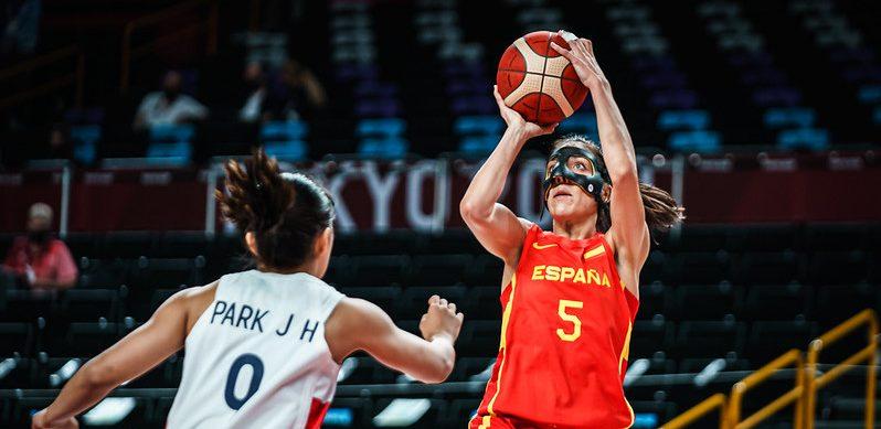España (baloncesto femenino) en Tokyo 2020. Fuente: FEB
