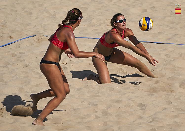 Belén Carro y Paula Soria. Fuente: COE