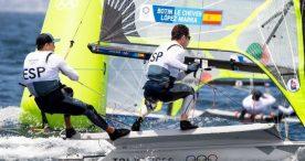 El viento lleva a Botín y López Marra a la plata provisional