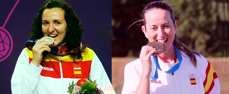 Sonia Franquet y Fátima Gálvez. Fuente: AD
