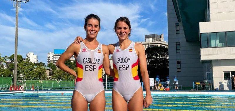 Miriam Casillas y Anna Godoy. Fuente: COE
