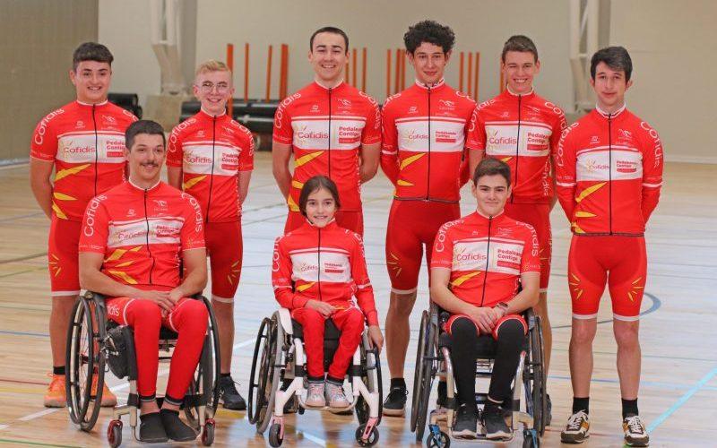 Promesas de ciclismo paralímpicas. Fuente: CPE