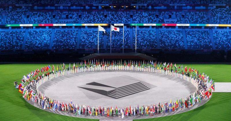 Ceremonia de clausura de Tokyo 2020. Fuente: COE