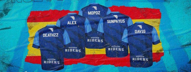 Movistar Riders. Fuente: Movistar Riders
