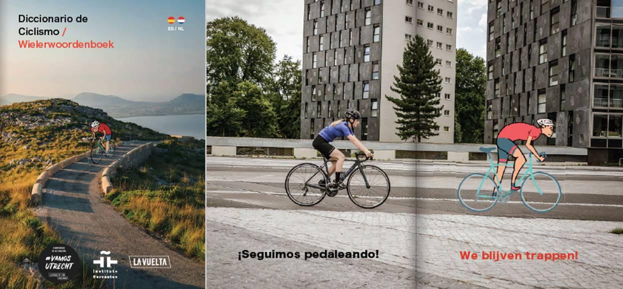 Diccionario ciclismo. Fuente: La Vuelta