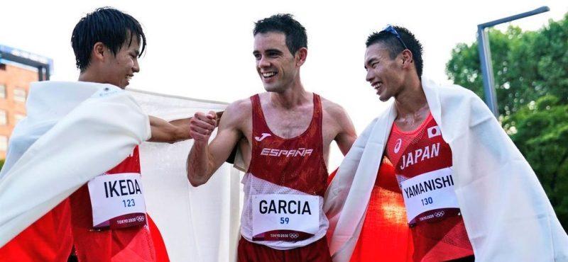 Diego García. Fuente: Tokyo2020