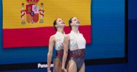 Alisa Ozhogina e Iris Tió logran el 10º puesto en la final de dúos