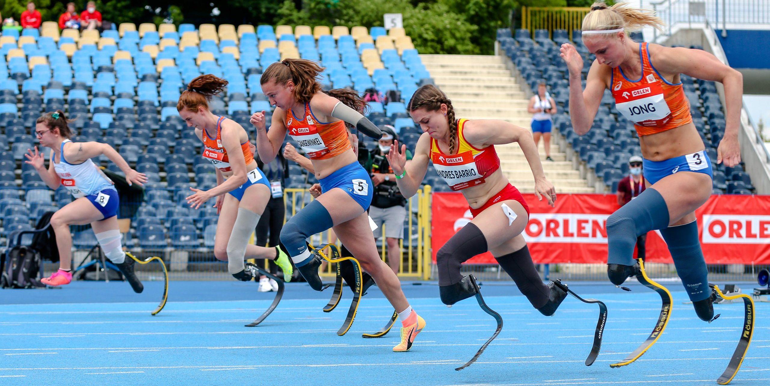 Campeonato de Europa de Atletismo Paralímpico. Fuente: CPE