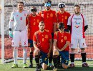 'La Roja' de fútbol para ciegos se concentra en los Juegos de Tokio