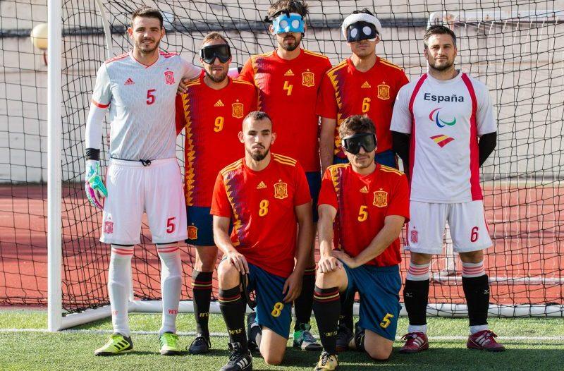 Selección Española de Fútbol para Ciegos. Fuente: CPE