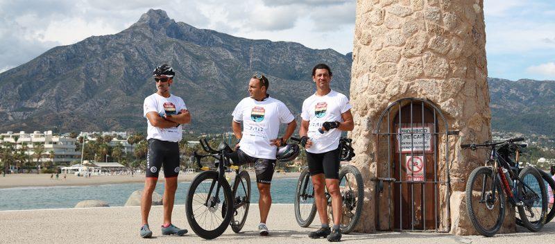 Carlos Toro y Carlos Rumbado durante el desafío con Javier Mérida. Fuente: Torosup