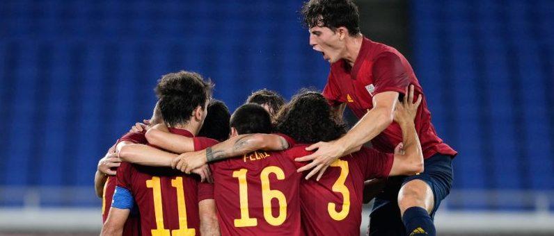 Selección Olímpica Española de Fútbol Masculino. Fuente: COE