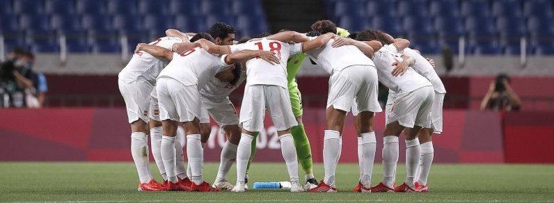 Selección Olímpica Española de Fútbol. Fuente: COE