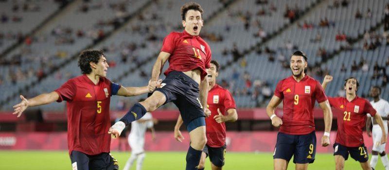 Selección olímpica masculina española. Fuente: COE
