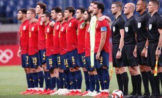 España, a cuartos del torneo de fútbol olímpico