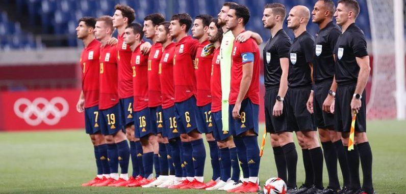 Selección Masculina Española de Fútbol. Fuente: COE