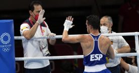 Gabriel Escobar, a un triunfo de la medalla olímpica en boxeo