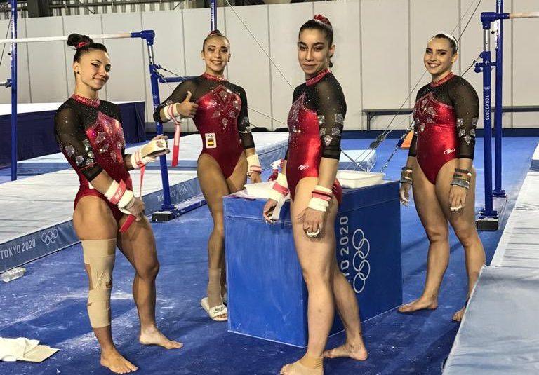 Equipo gimnasia español. Fuente: COE