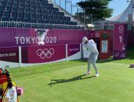 Arnaus y Campillo, bajo el par en el primer día de golf en Tokio