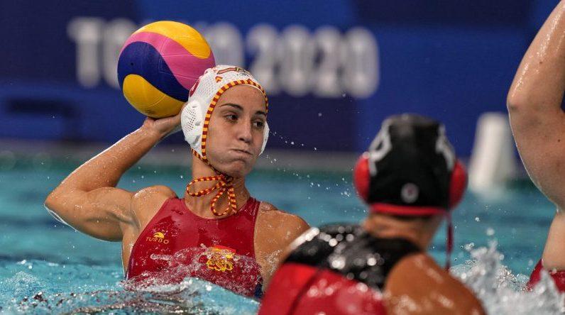Selección Española de Waterpolo en Tokyo 2020. Fuente: COE