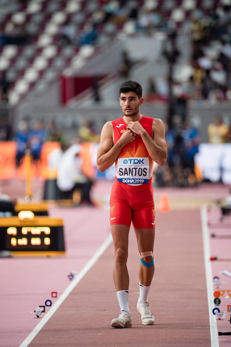 Héctor Santos. Fuente: COE