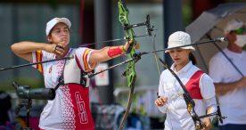 Daniel Castro e Inés de Velasco, 44º y 48ª en el debut del tiro con arco en Japón
