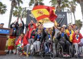 Invencibles, la historia de cómo la selección española de surf adaptado conquistó un oro histórico