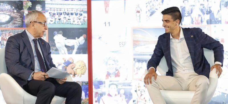 Alejandro Blanco y Joel González. Fuente: COE