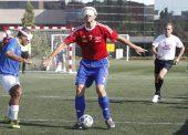 José López, un maestro del gol desde la ceguera