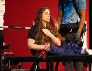 Diploma paralímpico para Loida Zabala