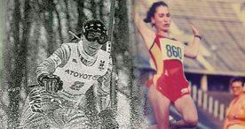 Magda Amo, reina de la nieve y del salto de longitud