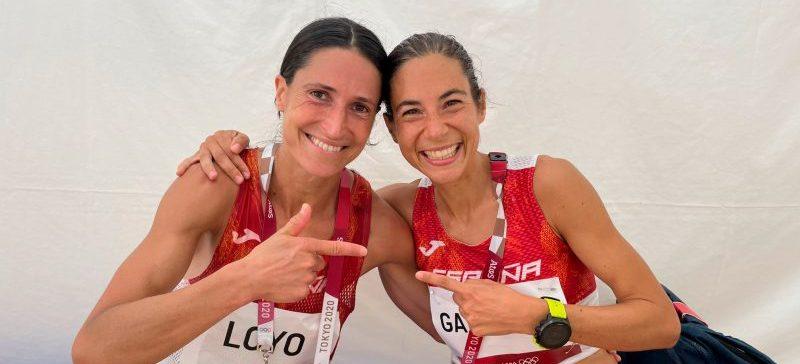 Elena Loyo y Marta Galimany. Fuente: COE