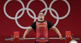 Marcos Ruiz, diploma olímpico en +109 kilos