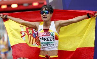"""María Pérez: """"El reto es la medalla en los Juegos"""""""