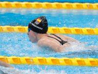 Marta Fernández, bronce en 50 metros libre