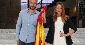 Mireia Belmonte y Saúl Craviotto, abanderados españoles en Tokio 2020