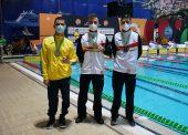 Íñigo Llopis y el relevo 4x100 estilos S14 se bañan en oro