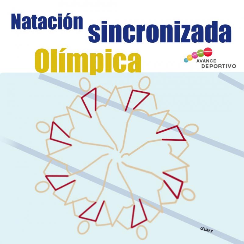 🤸🏻♂💦 Natación Sincronizada Olímpica
