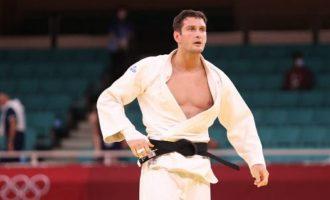 Nikoloz Sherazadishvili cae en la repesca en Tokyo 2020
