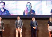 Homenaje a los deportistas españoles que estarán en los Juegos de Tokio 2020