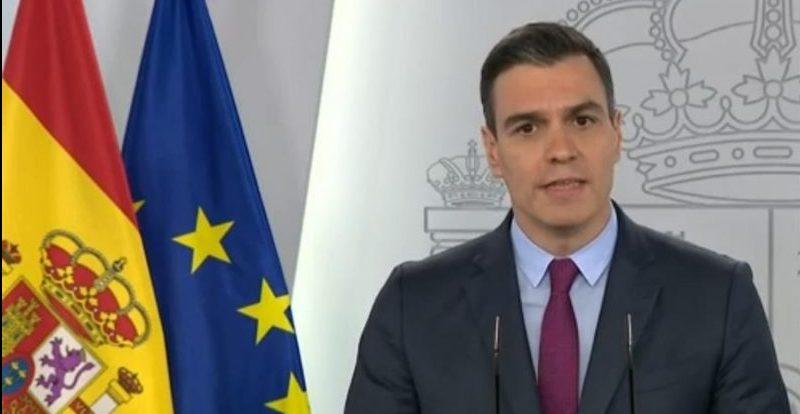 Pedro Sánchez. Fuente: EFE