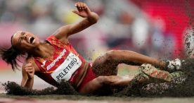 Ana Peleteiro, bronce en triple salto con récord de España