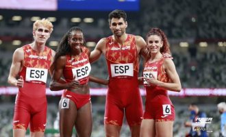 El equipo español de 4x400 m mixto, a la final olímpica
