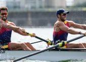 España se queda sin medallas en el remo, pero se lleva 3 diplomas olímpicos