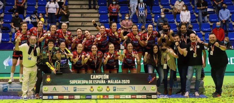Rincón Fertilidad Málaga campeón de la Supercopa de España. Fuente: Avance Deportivo/Jesús Carmona